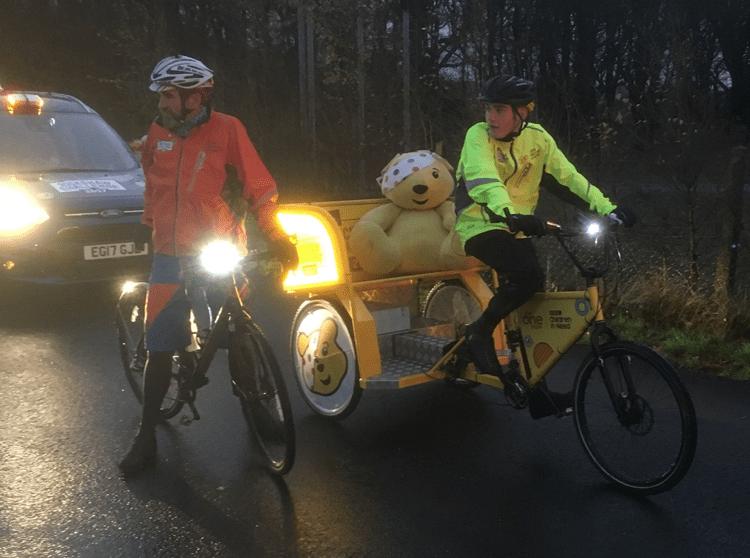 BBC One Show's Rickshaw Challenge Cumbria