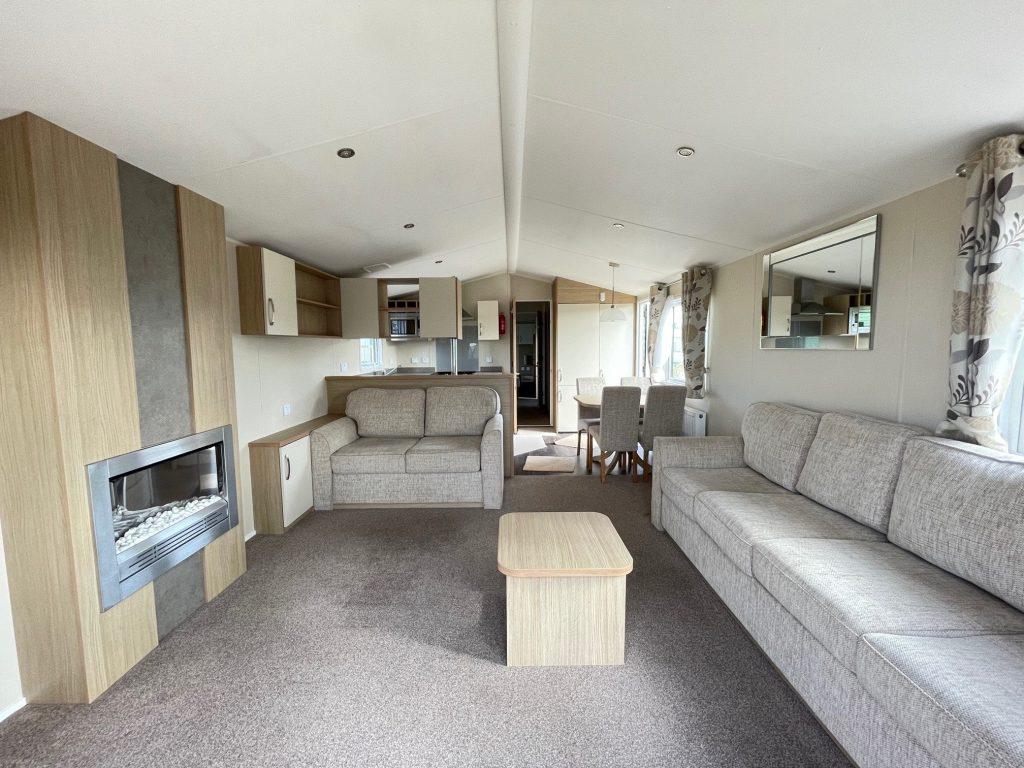 Interior, Brockenhurst Holiday Home, Bay View Holiday Park, North West, Morecambe Bay
