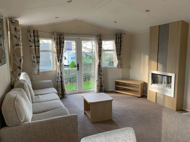 Lounge in Willerby, Brockenhurst Holiday Home, Bay View Holiday Park, North West, Morecambe Bay
