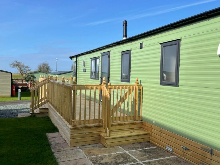 2020 Willerby Sierra at Bay View Holiday Park - Exterior side view