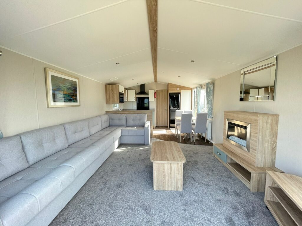 2020 Willerby Sierra at Bay View Holiday Park - Lounge and Kitchen