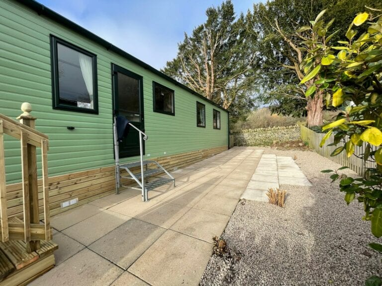 2021 ABI Windermere at Far Arnside Holiday Park - External Side View - Holgates holiday homes for sale