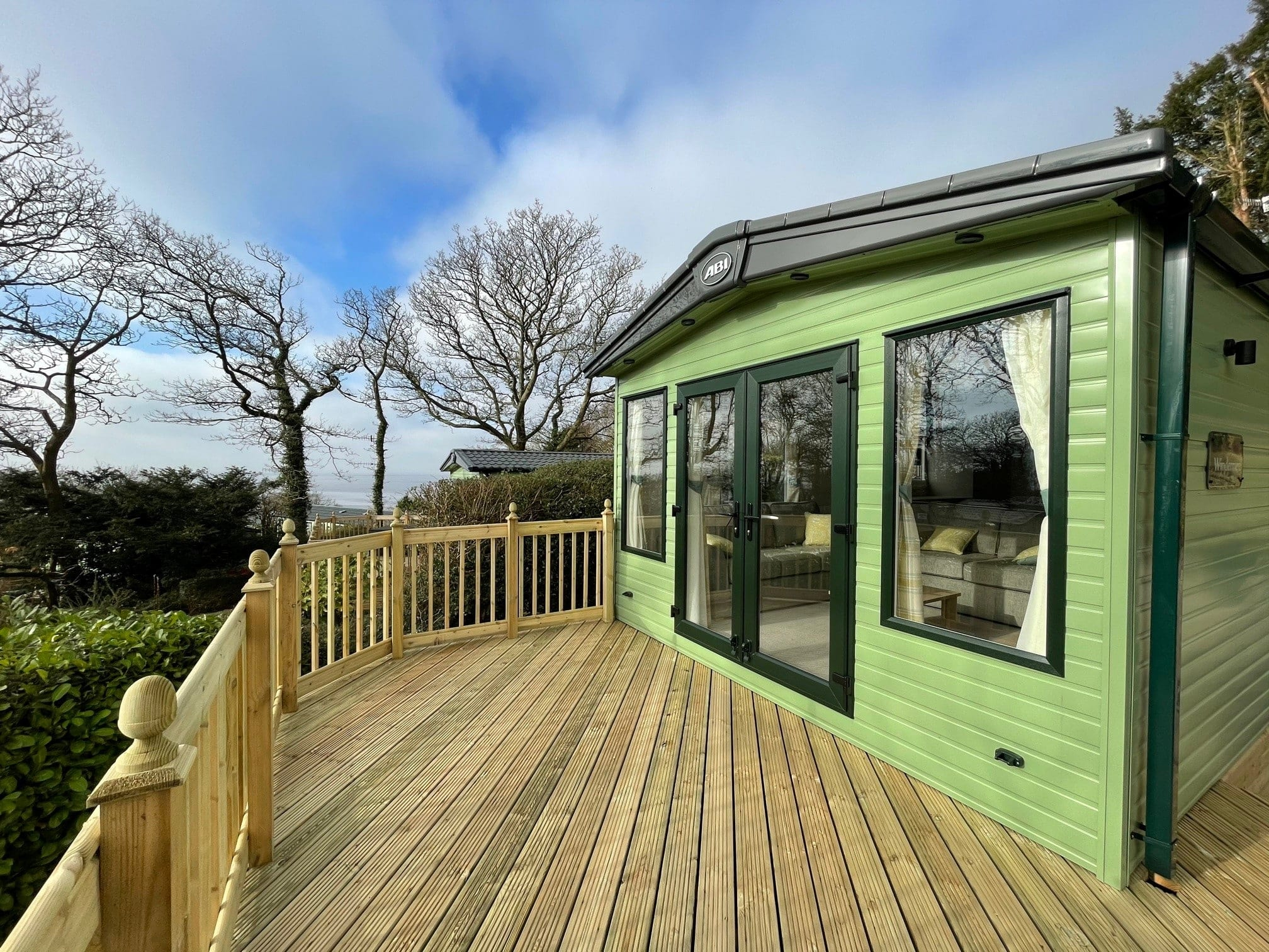 2021 ABI Windermere at Far Arnside Holiday Park - Deck View - Holgates holiday homes for sale