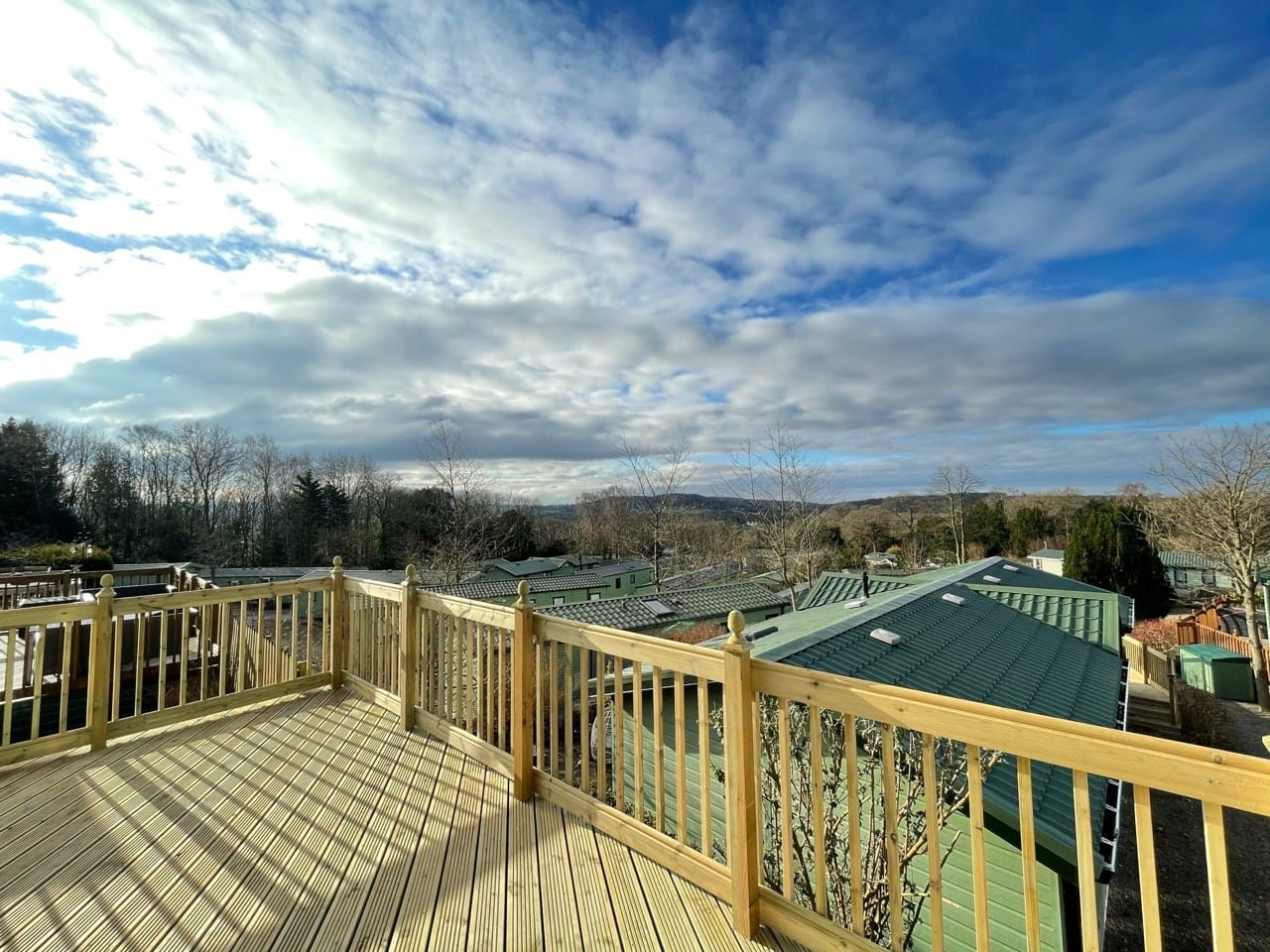 2021 Swift Bordeaux at Silver Ridge - Holgates holiday homes for sale (Deck view)