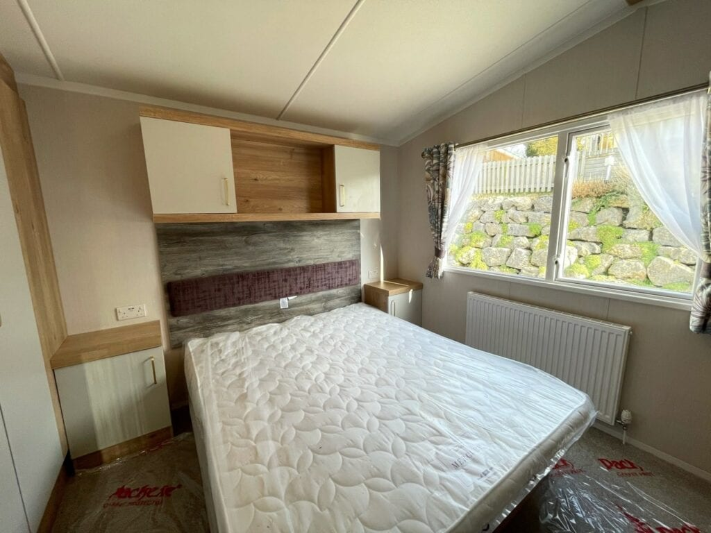 2021 Swift Bordeaux at Silver Ridge Holgates - Holgates holiday homes for sale (Main bedroom)