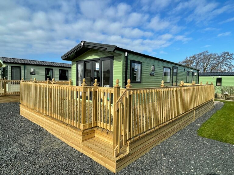 Exterior view of a 2021 Willerby Manor at Bay View Holiday Park