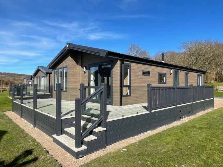 2021 Willerby Pinehurst at The Cove - Deck around holiday home