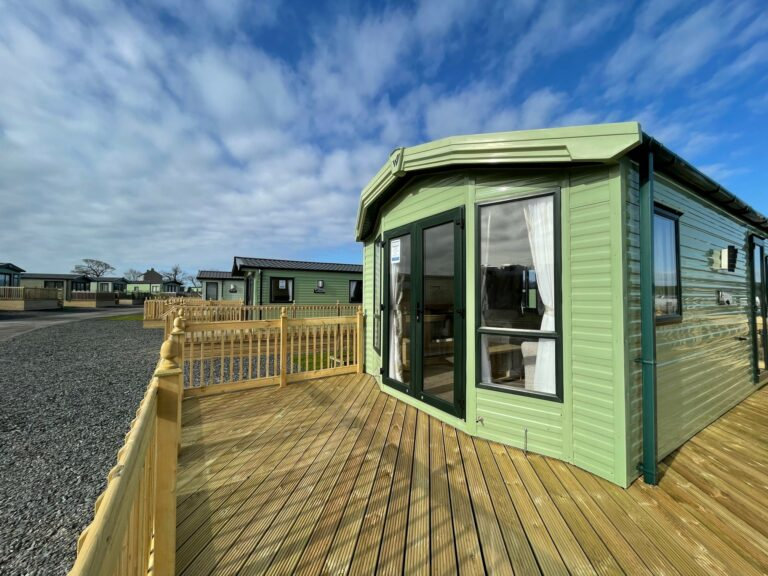 Exterior view of Willerby Winchester Holiday Home at Bay View Holiday Park, North West, Morecambe Bay