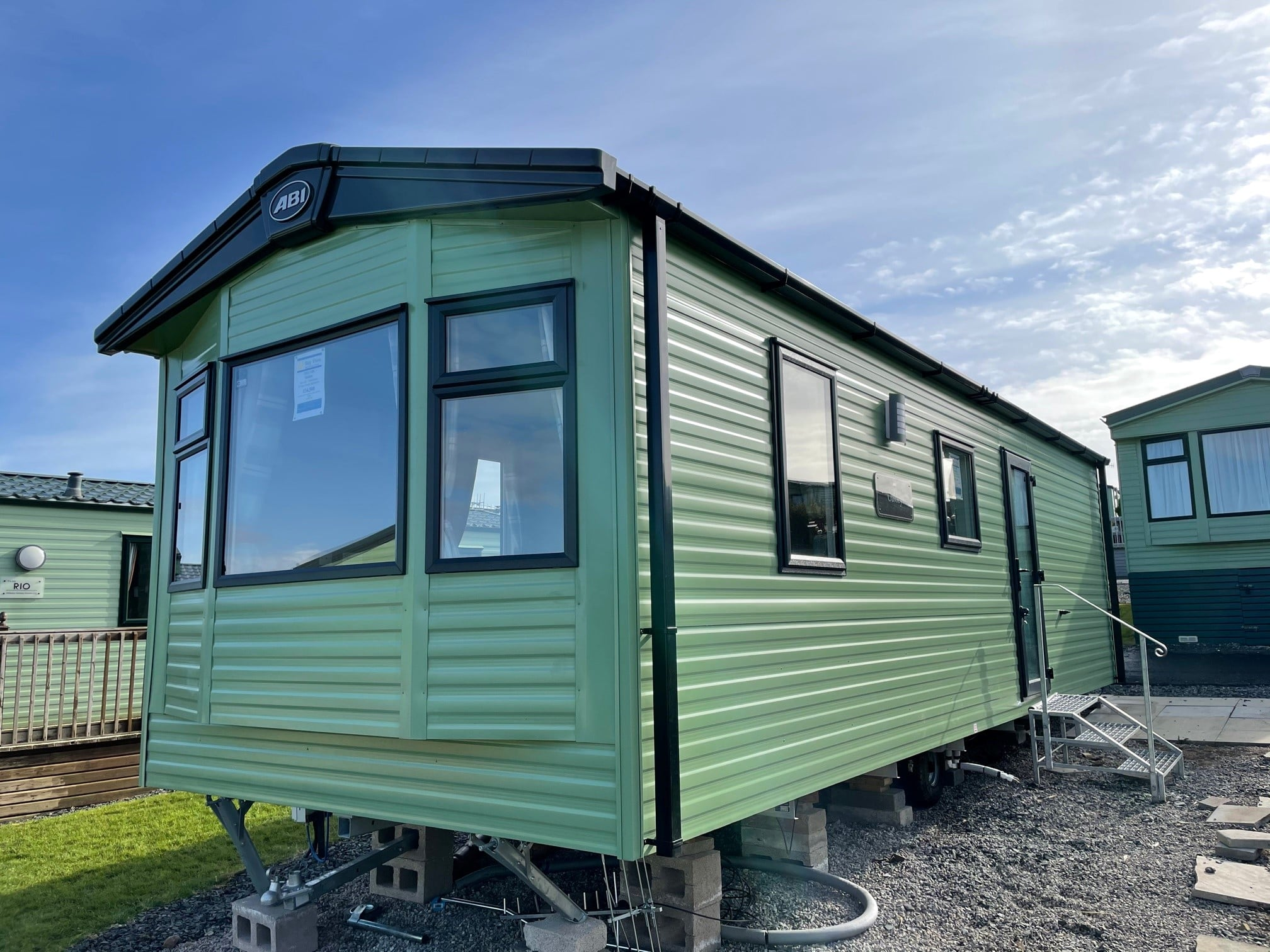 2021 ABI Oakley at Bay View Holiday Park North West Morecambe Bay - Bay window