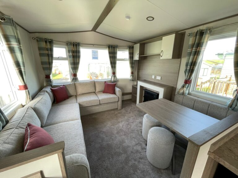 2021 ABI Oakley at Bay View Holiday Park North West Morecambe Bay - View of lounge