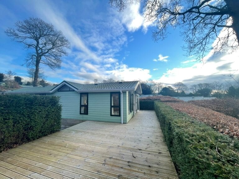 Previously Owned 2006 Willerby New Hampshire at Silver Ridge Cumbria South Lakes - Holgates - View from deck