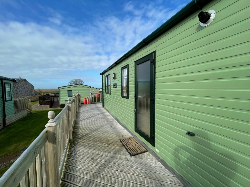 Previously Owned 2018 ABI Blenheim at Bay View Holiday Park North West Morecambe Bay - Exterior View