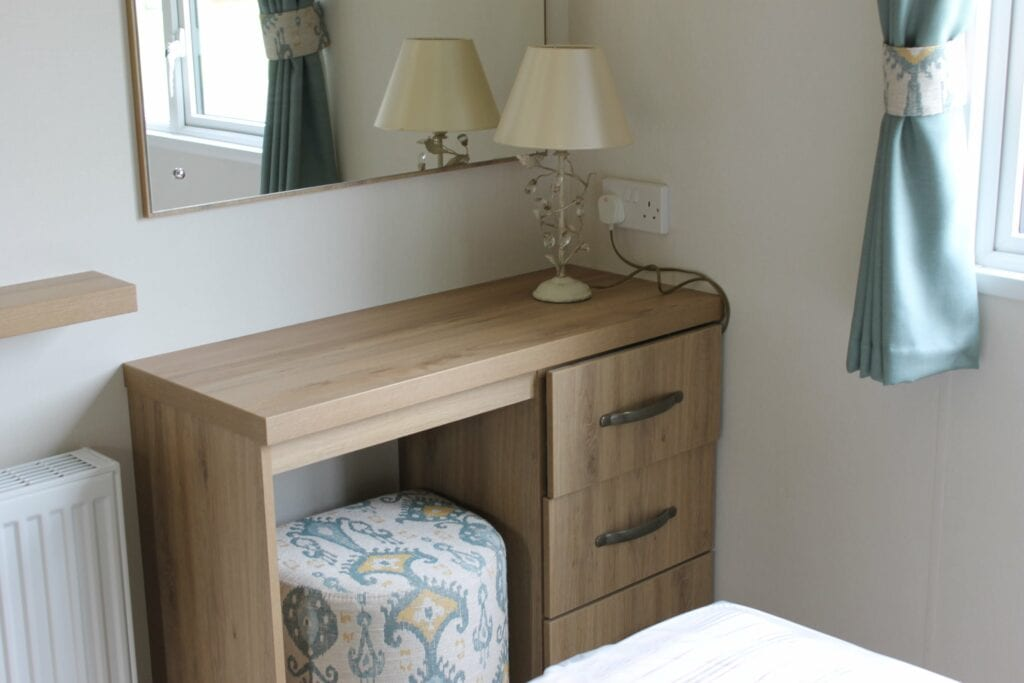 Previously Owned 2018 ABI Blenheim for sale at Bay View Holiday Park - Holgates (Bedroom vanity)