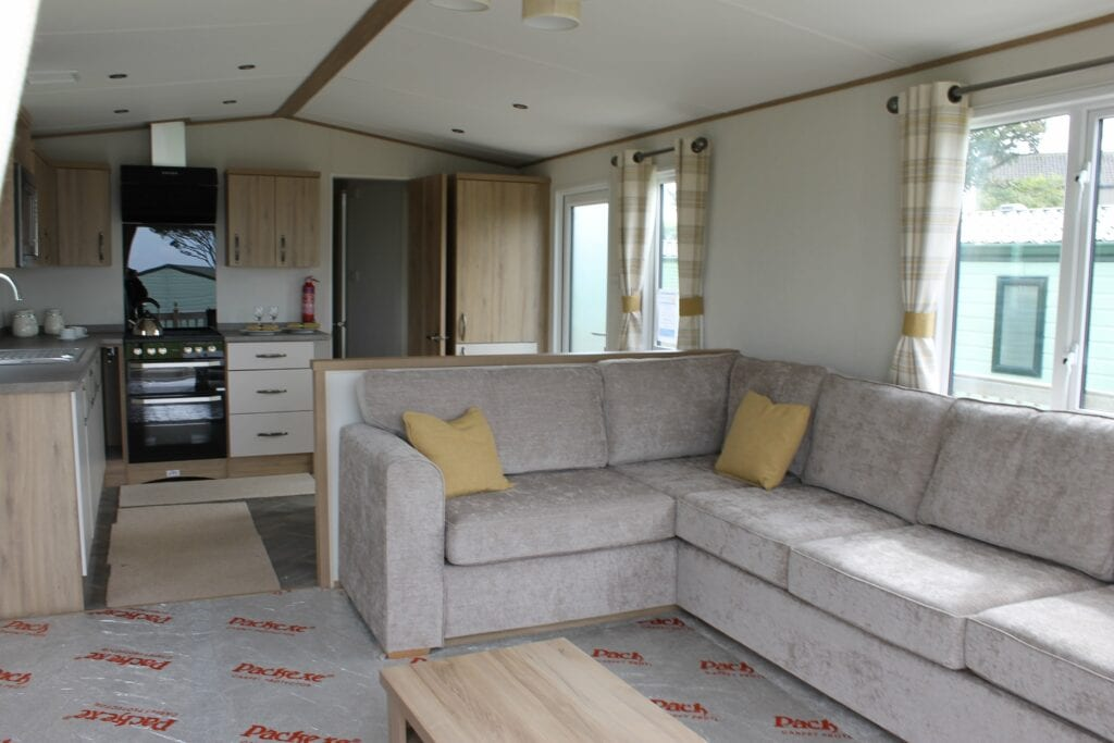 Previously Owned 2018 ABI Blenheim for sale at Bay View Holiday Park - Holgates