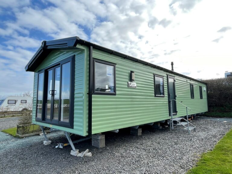 Exterior view of unit at Willerby, Avonmore, Bay View Holiday Park- Holgate