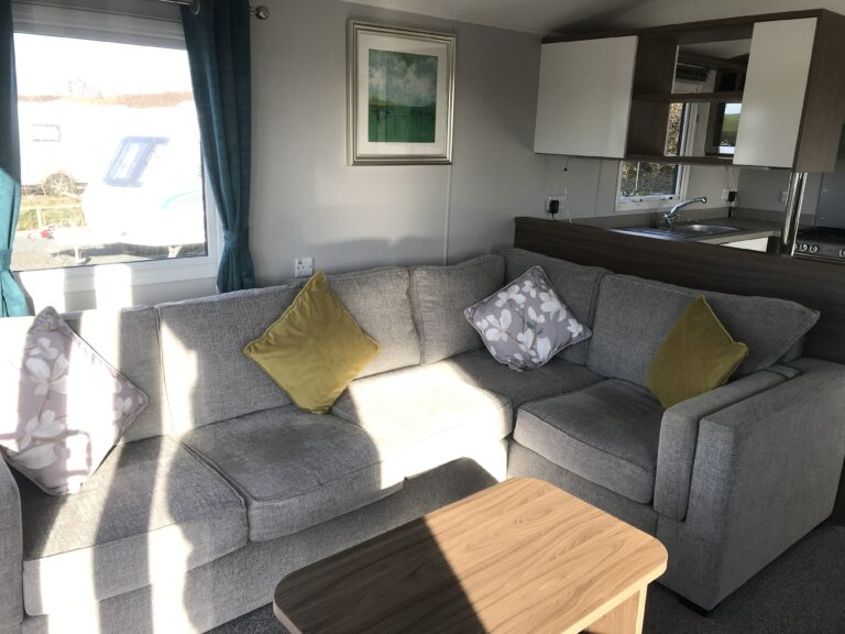 Sitting room in unit at Willerby, Avonmore, Bay View Holiday Park- Holgate