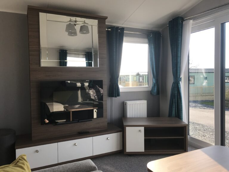 Lounge in unit at Willerby, Avonmore, Bay View Holiday Park- Holgate