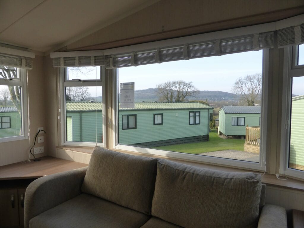 Swift Arnside at Netherbeck Holiday Park - Lounge Window