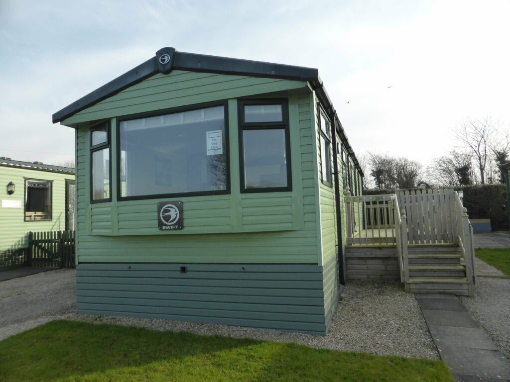 Swift Arnside at Netherbeck Holiday Park - Holgates - Bay Window View