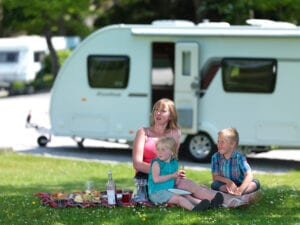 Family Touring Pitch - Holgates Holiday Parks