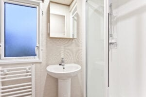 Holgates Holiday parks in Lancashire - Accommodation bathroom
