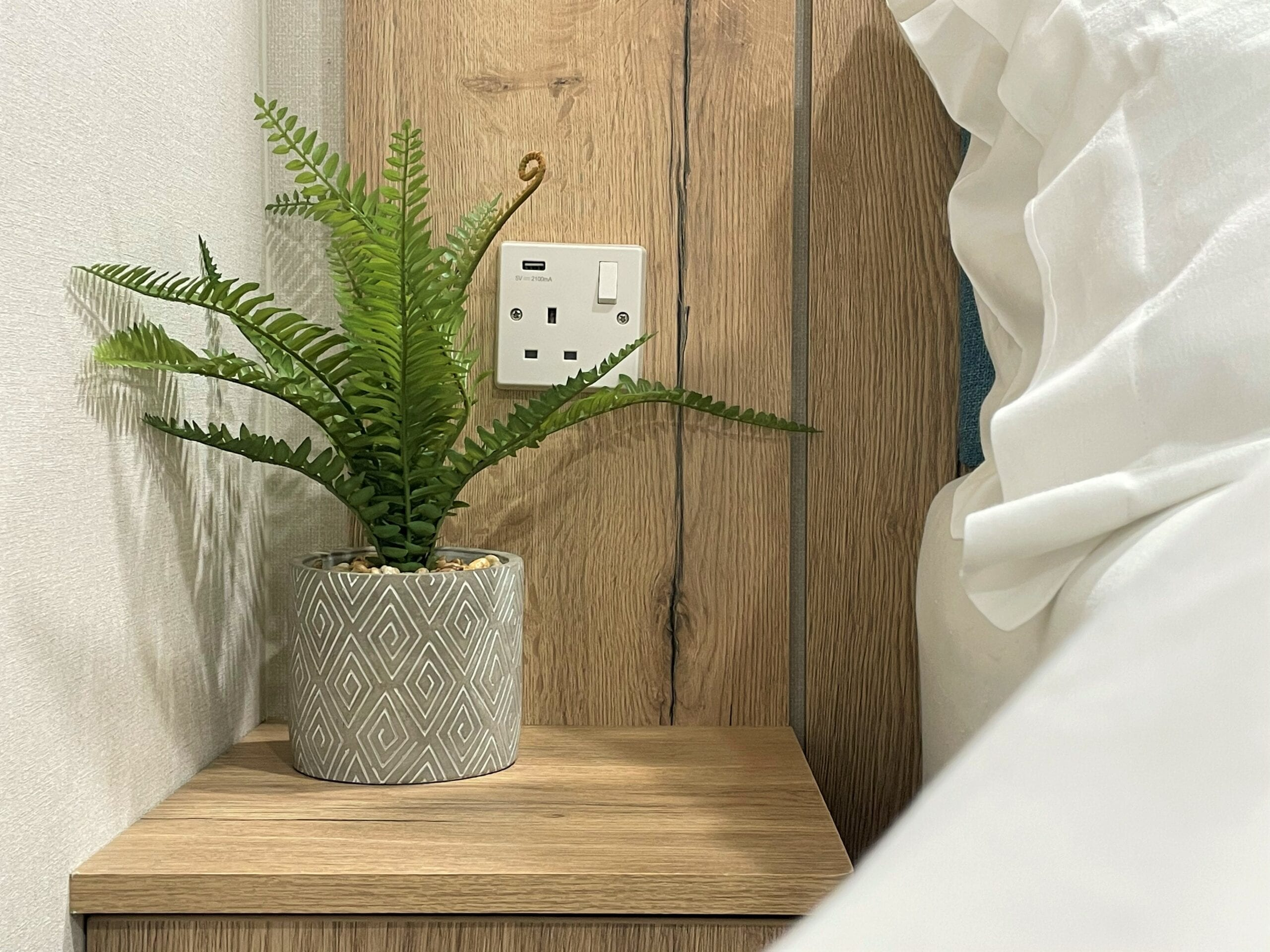 Holgates Holiday parks in Lancashire - Power outlets