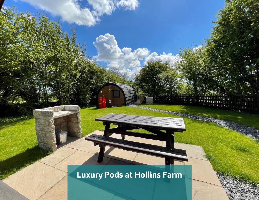 Luxury Pod at Hollins Farm