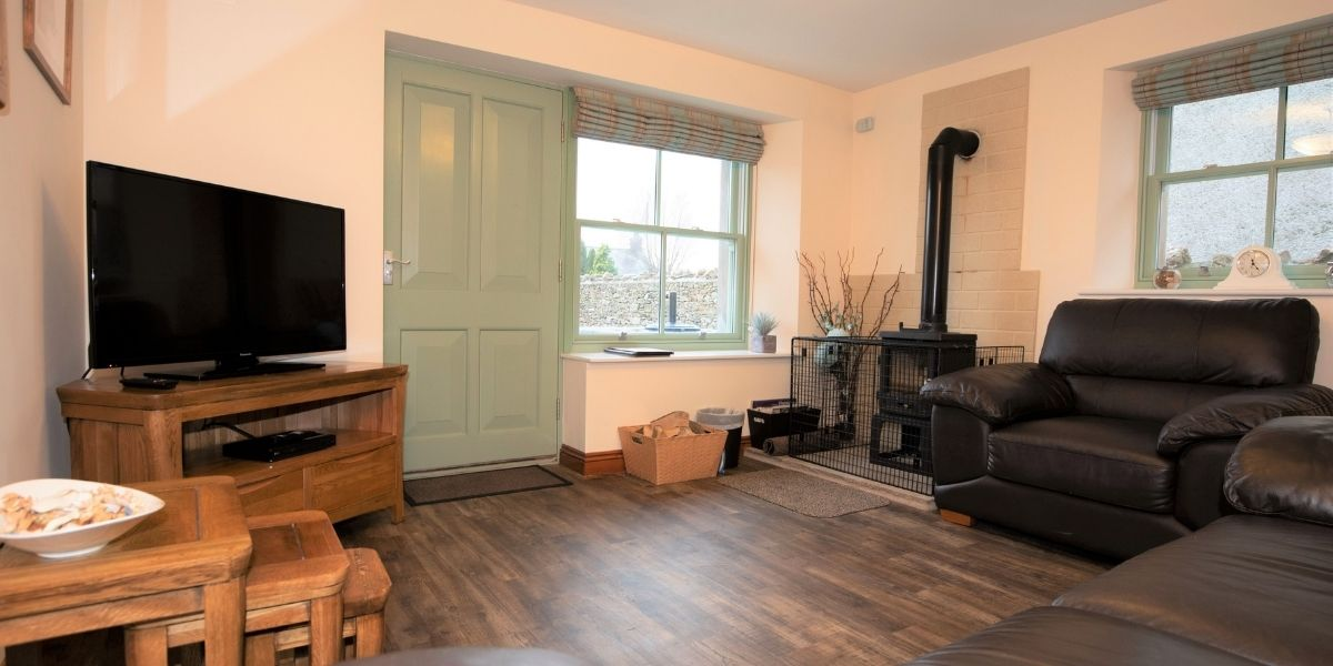 Front room of the Pepperpot Cottage